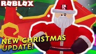 *NEW UPDATE 4* CHRISTMAS SANTA EVENT & UPDATE in ROBLOX BUBBLE GUM SIMULATOR