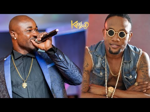HARRYSONG SLAMS KCEE ON STAGE AT WARRI MEGA FIESTA  2017 (Nigerian Entertainment)
