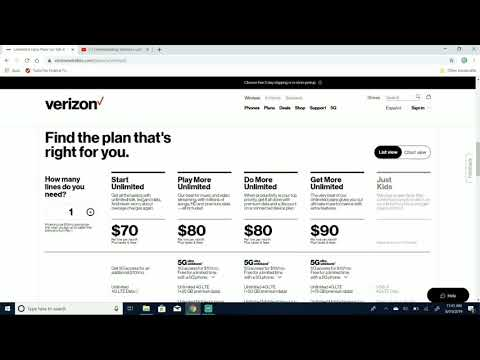 Verizon NEW Unlimited Plans!!! 2019