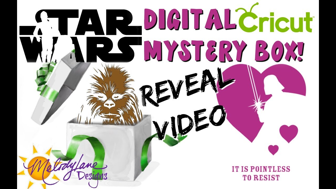 Star Wars Digital Mystery Box by Cricut
