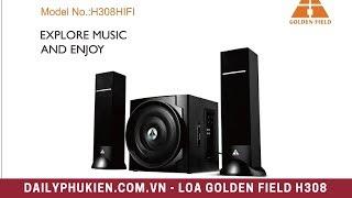 Loa golden field h308 hifi | Loa bluetooth golden field H308 / Giá 970K
