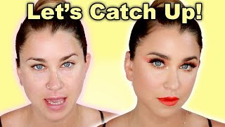 BEST WEEK EVER! Chatty Get Ready With Me-Colorful Summer Makeup | Beauty Banter