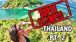 Super Stamped: Thailand (Pt. 2 Koh Tao & Bangkok)