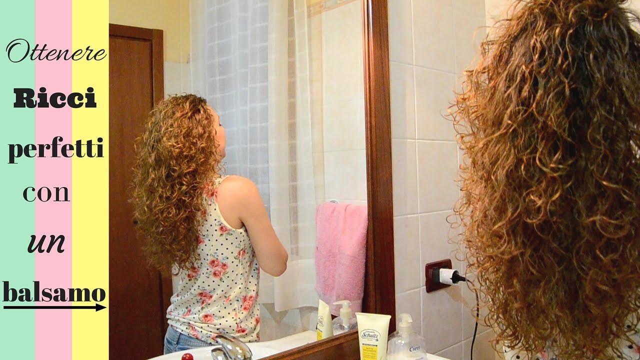 Per fare i capelli ricci con la schiuma