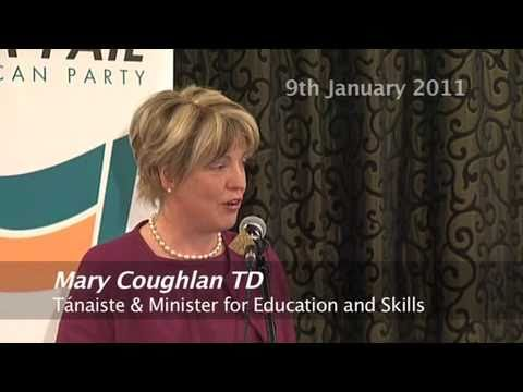 Mary Coughlan TD Speech at  DSW FF Convention 9JAN2011