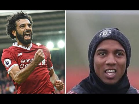 Manchester United defender Ashley Young trolls Liverpool's Mo Salah