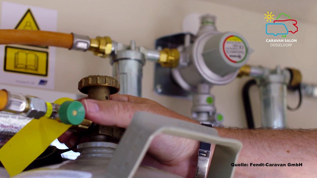 CARAVAN SALON Düsseldorf StarterWelt -  Technik: Gas, was gibt es zu beachten?