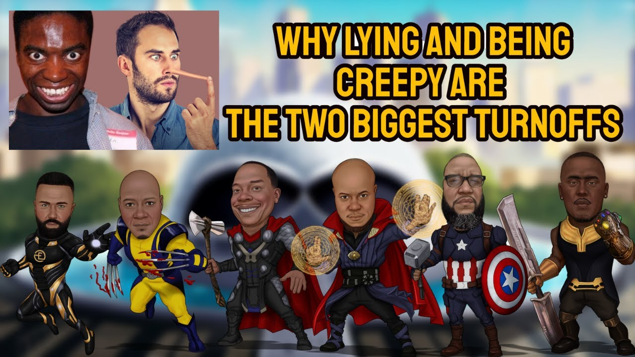 Why lying and being creepy are the two biggest turnoffs