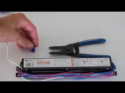 Replacing the Ballast on a Fluorescent Light Fixture