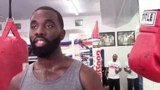 TERRELL GAUSHA HAS ADMIRATION FOR KELL BROOK FOR FACING GGG & TALKS CHARLO BROTHERS, ANGULO, & LARA