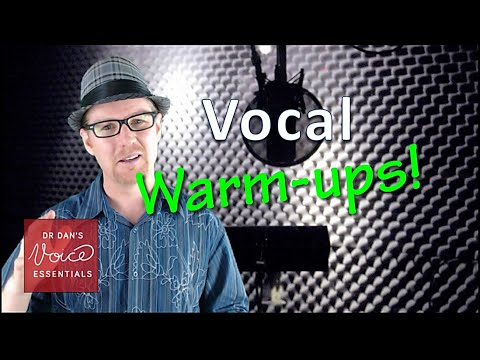 WARM UP the SINGING Voice  Vocal Warm up Exercises  DrDan