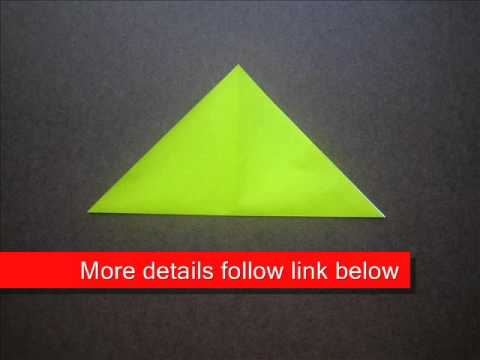 origami instructions origami waterbomb base youtube