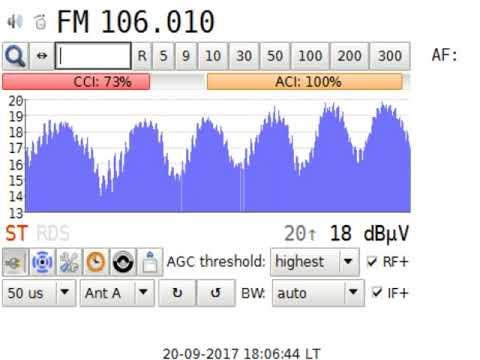 DXFM Radio Europa 2 @Banská Bystrica SVK in Craiova RO 613 km