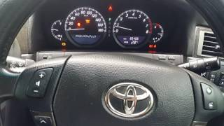 FCAR.Linear Valve Learning Value Initialization on Toyota Crown Majester