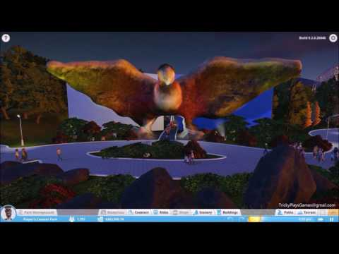 Planet coaster - Vogelrock (inspired by Vogelrok Efteling)