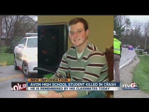 Avon High School student killed in crash - YouTube
