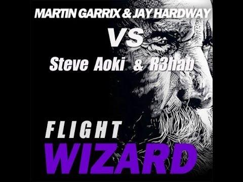 Martin Garrix & Jay Hardway vs Steve Aoki & R3hab - Flight Wizard (DJ Nico Spider Bootleg)