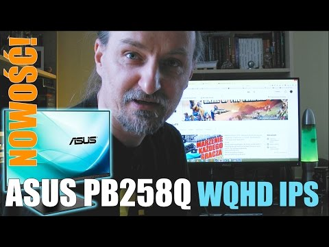 Quick Unboxing - NOWOŚĆ! ASUS PB258Q WQHD AH-IPS LCD Monitor | 03.2015 - McSzakalTV
