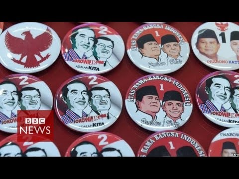 In 60 seconds: Indonesia presidential candidates - BBC News