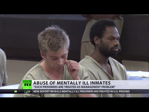 Crimes behind bars: HRW reveals string of abuses of mentally ill inmates in US
