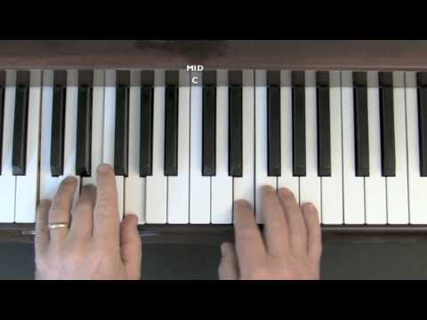 Hey Jude - Easy piano lesson (Part 1)