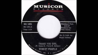 Street People   Thank You, Girl