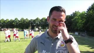 23.06.2019, Fussball-Harz TV, Interview mit Benjamin Duda, Trainer VfV 06 Hildesheim