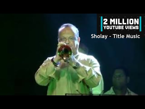 Sholay - Title Music || R D Burman's Original Orchestra || Live