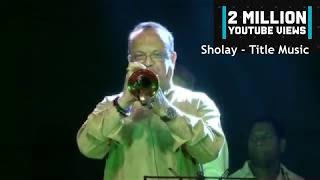 Sholay - Title Music || R D Burman's original orchestra || Live