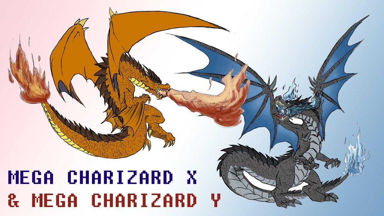 Realistic Pokemon Requests #3: Mega Charizard X & Mega ... Realistic Pokemon Charizard