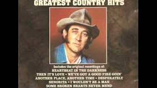 Watch Don Williams Wish I Was In Nashville video