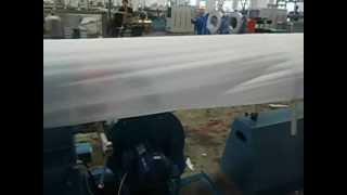 Экструзионная линия вспененного РЕ.AVI(Экструзионная линия для производства вспененного РЕ листа., 2012-07-10T13:12:45.000Z)
