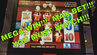 SPECTACULAR WIN MAX BET!!!  Wicked Winnings ll  Must see!! Redtint Loves Slots