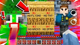We Broke Every Rule On The Police Minecraft Server!