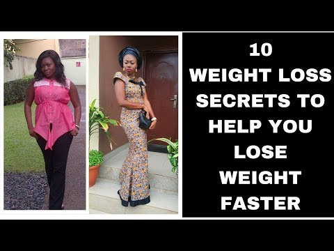 10 WEIGHT LOSS SECRETS THAT WILL HELP YOU LOSE WEIGHT FASTER