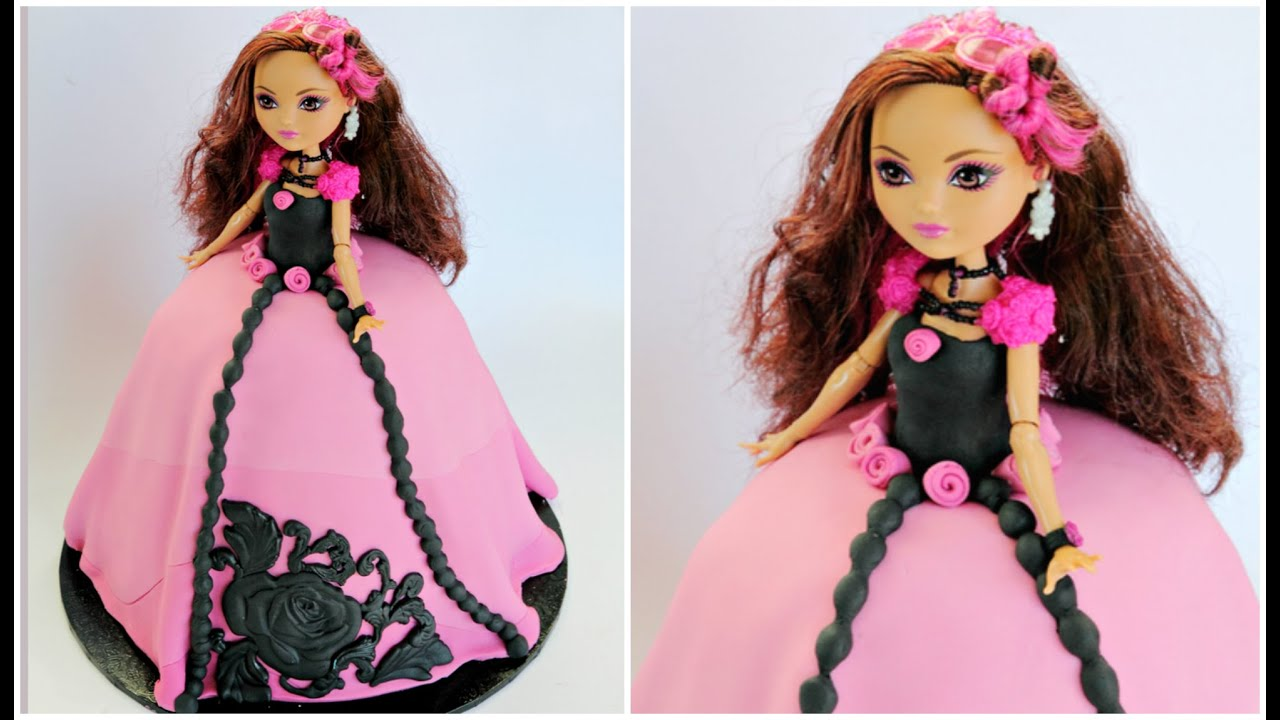 "Ever After High Doll Cake ""Briar Beauty"""