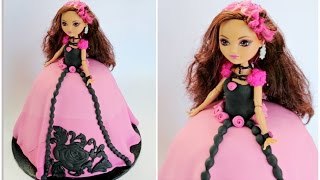 Briar Beauty Ever After High Cake - Wilton Mold - CAKE STYLE