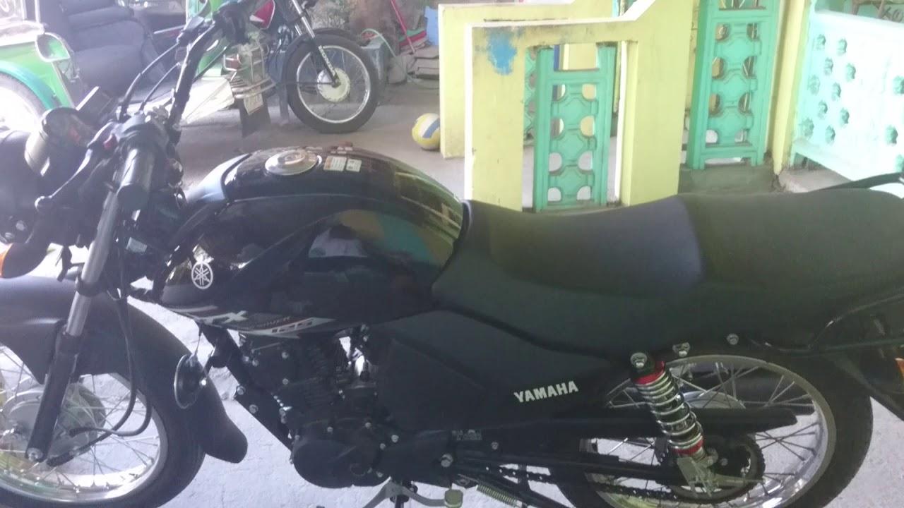 Yamaha ytx 125 lowered version w led