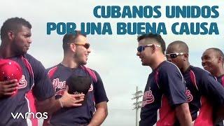 Estrellas Cubanas se unen para una buena causa en partido de Softball