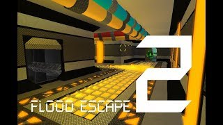 Roblox Flood Escape 2 (Test Map) - Crystal Base (Insane)(With Michael228p_Dev and robloxpies)