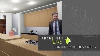 ARCHLine.XP Live for Interior Designers - Webinar