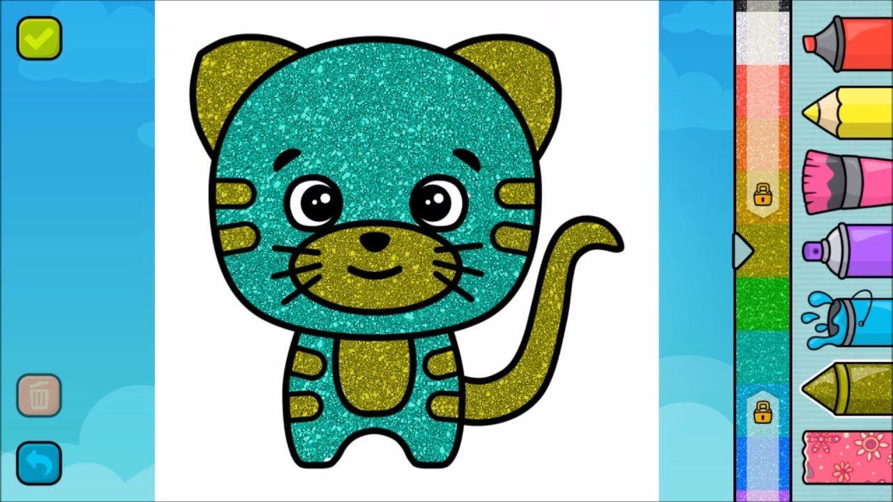 Cocuklar Icin Boyama Oyunu Painting Game For Children Youtube