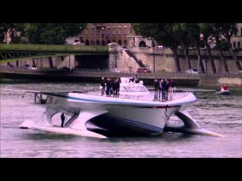 Raw: World's Largest Solar Boat Completes Voyage