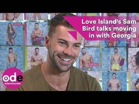 Love Island's Sam Bird talks moving in with Georgia