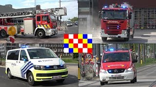 [BE] Antwerp Fire Department and Police responding urgently!