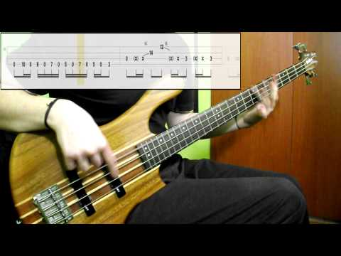 Red Hot Chili Peppers - Give It Away (Bass Cover) (Play Along Tabs In Video)