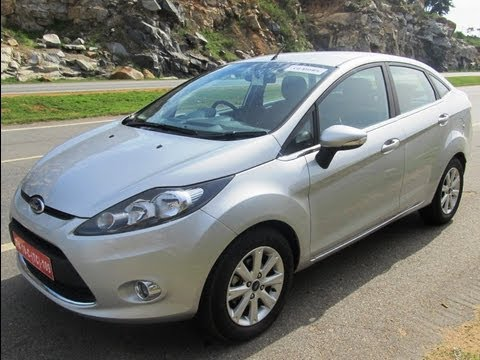 ford fiesta 2011 india test drive and features review petrol and diesel youtube. Black Bedroom Furniture Sets. Home Design Ideas