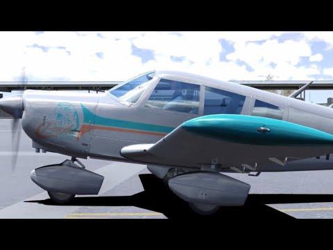 Flight Sim World: Private Pilot License Lesson 7 - Solo Cross-Country