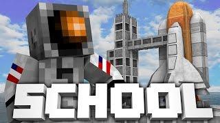 Minecraft School | SPACESHIP DESTROYS SCHOOL!