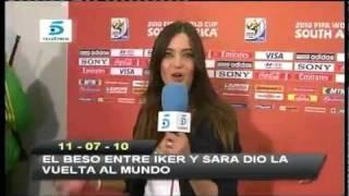 Roncero y su mujer imitaron el beso de Casillas y Carbonero thumbnail